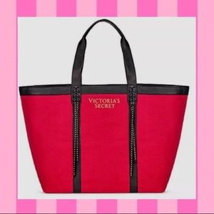 ❤️Victoria's Secret Leather Tassel Tote
